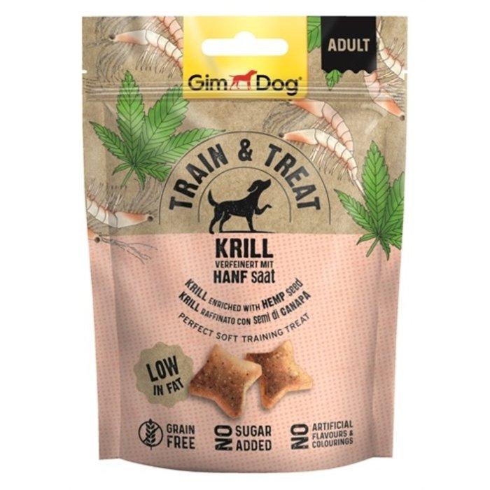 Gimdog train & treat krill / hennep