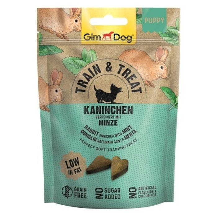 Gimdog train & treat junior konijn / munt