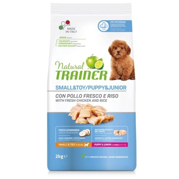 Natural trainer dog puppy / junior chicken