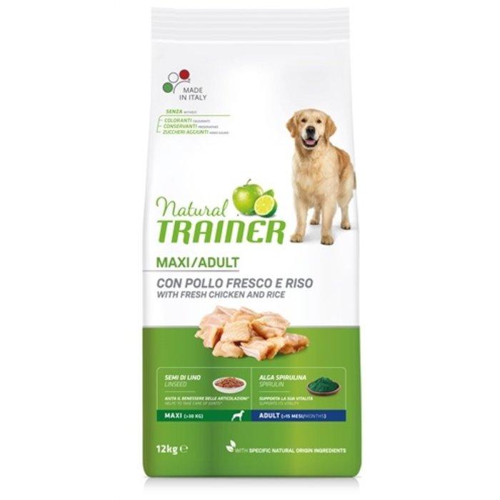 Natural trainer maxi adult kip / rijst / aloe vera