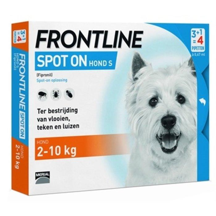 Frontline hond spot on small