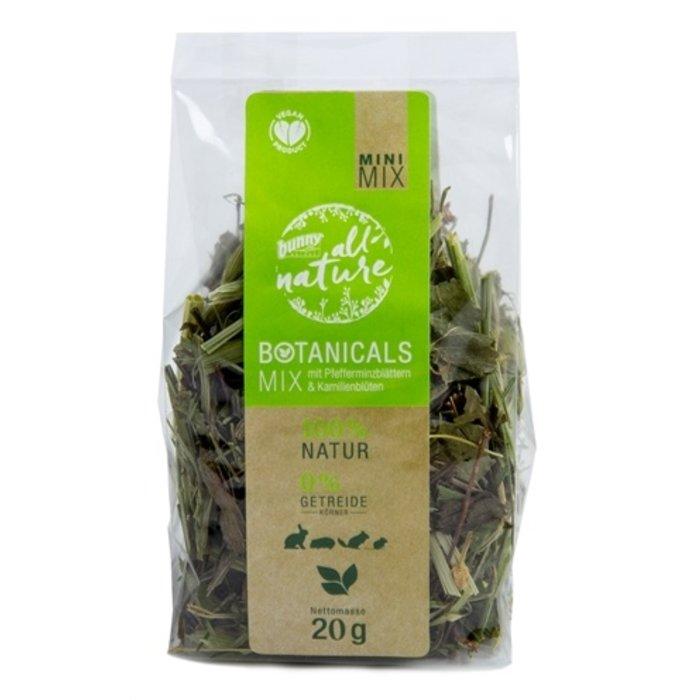 Bunny nature botanicals mini mix pepermuntblad / kamillebloesem