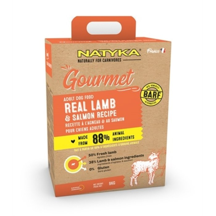 Natyka gourmet adult lamb / salmon