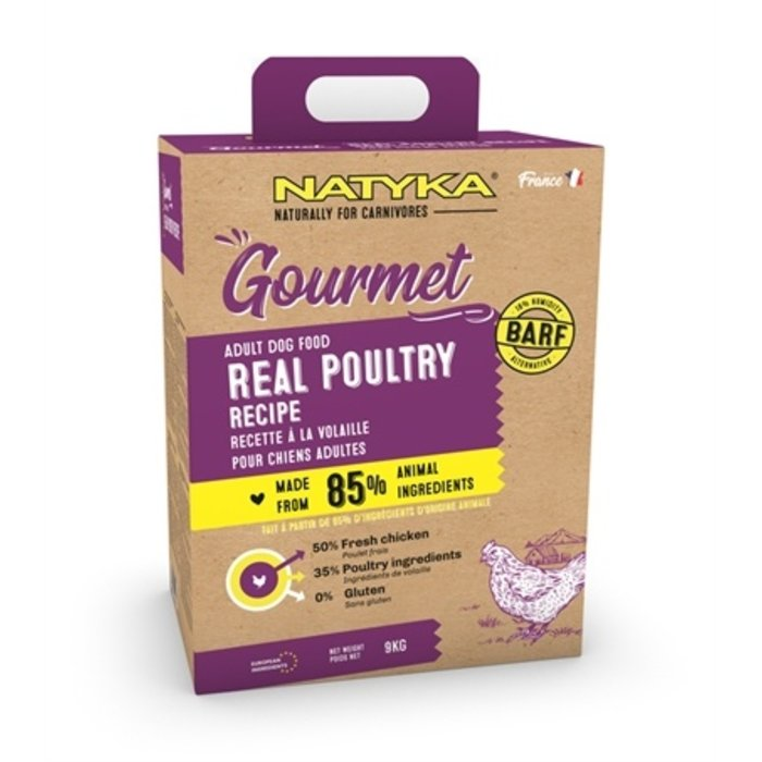 Natyka gourmet adult poultry