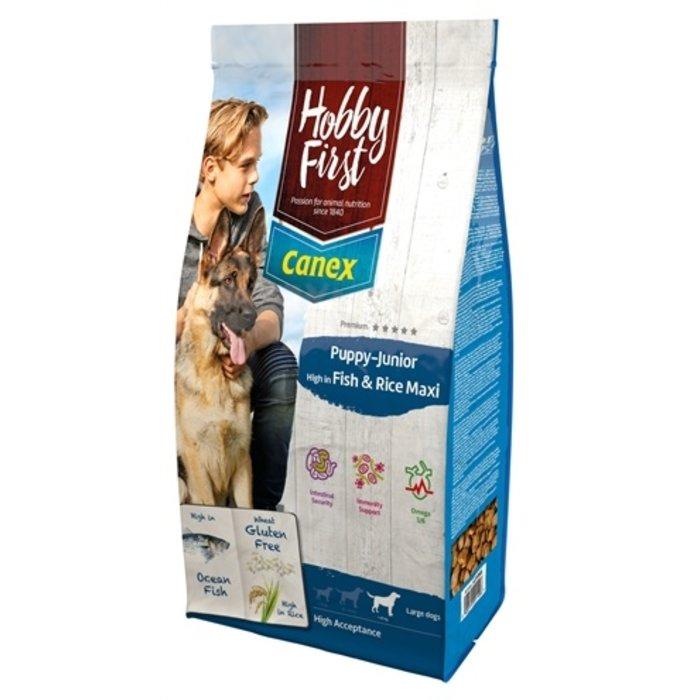 Hobbyfirst canex puppy/junior brocks rich in fish & rice maxi