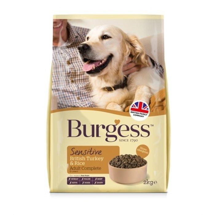 Burgess dog sensitive kalkoen / rijst