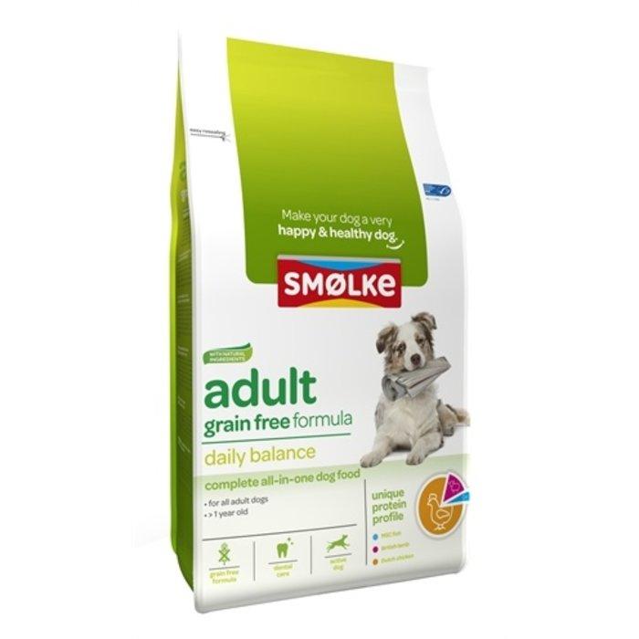 Smolke hond adult graanvrij