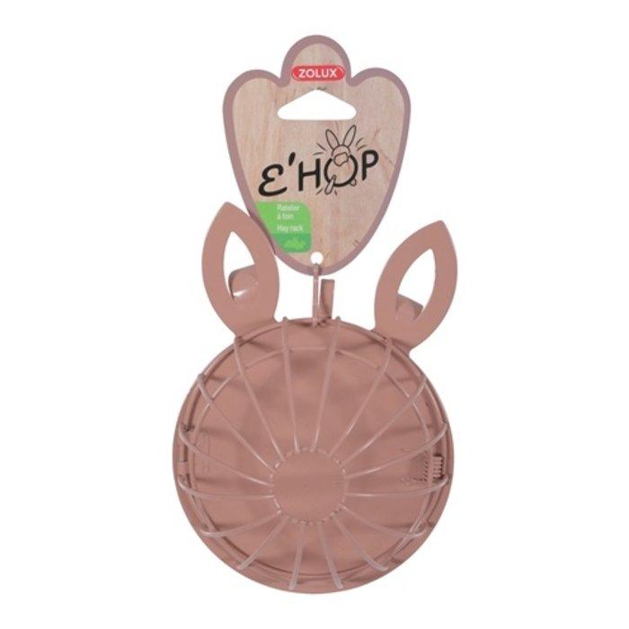 Zolux ehop hooiruif konijn met hanger roze