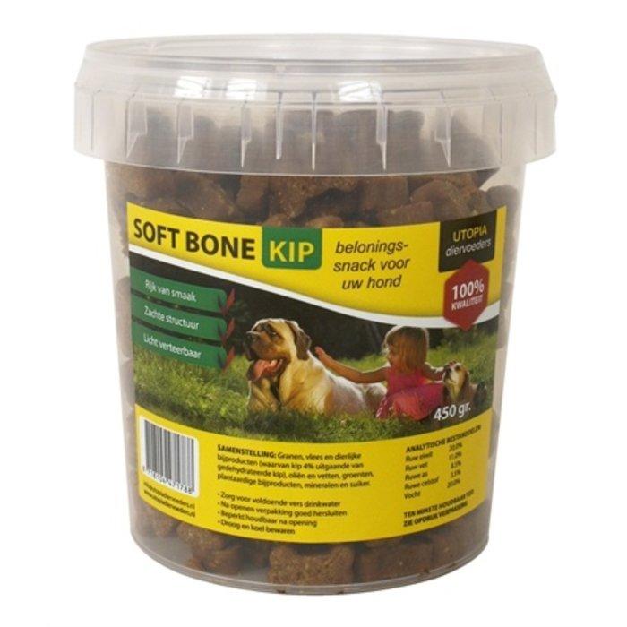 Utopia diertotaal soft bones kip