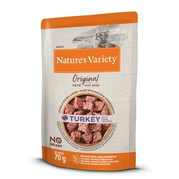 Natures variety original pouch turkey