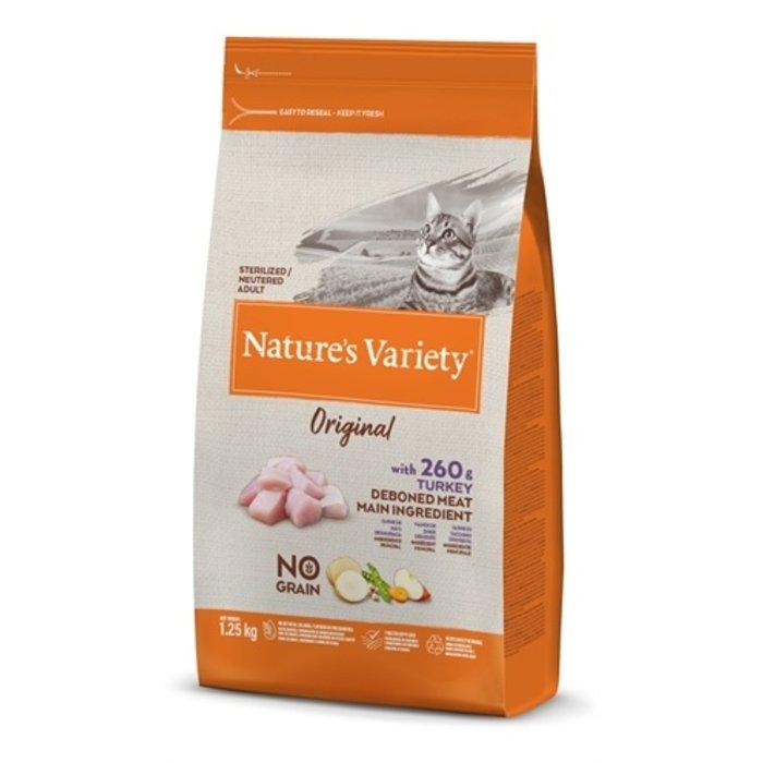 Natures variety original sterilized turkey no grain