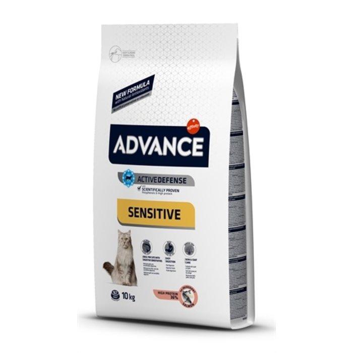 Advance cat sensitive salmon