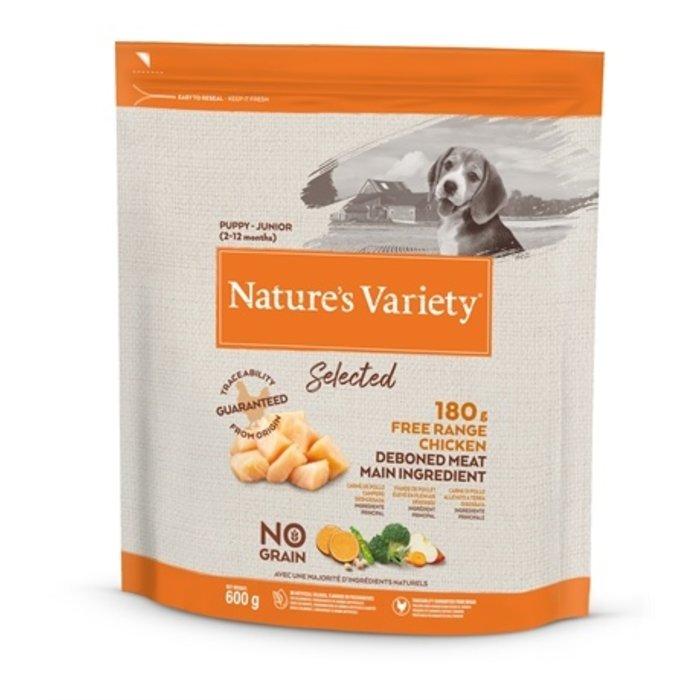 Natures variety selected junior free range chicken