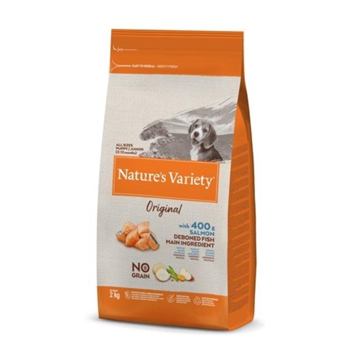 Natures variety original junior salmon no grain