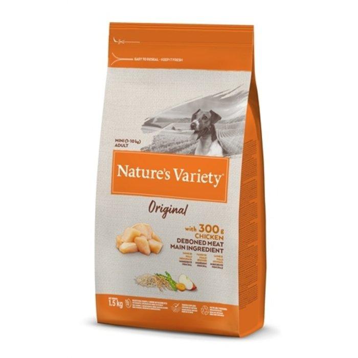 Natures variety original adult mini chicken