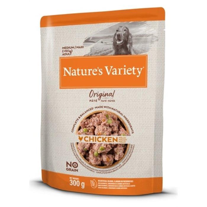 Natures variety original adult medium / maxi pouch chicken no grain