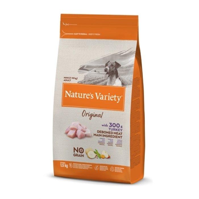 Natures variety original adult mini turkey no grain