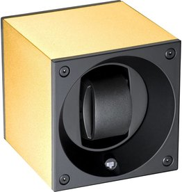 Swiss Kubik Watchwinder gold