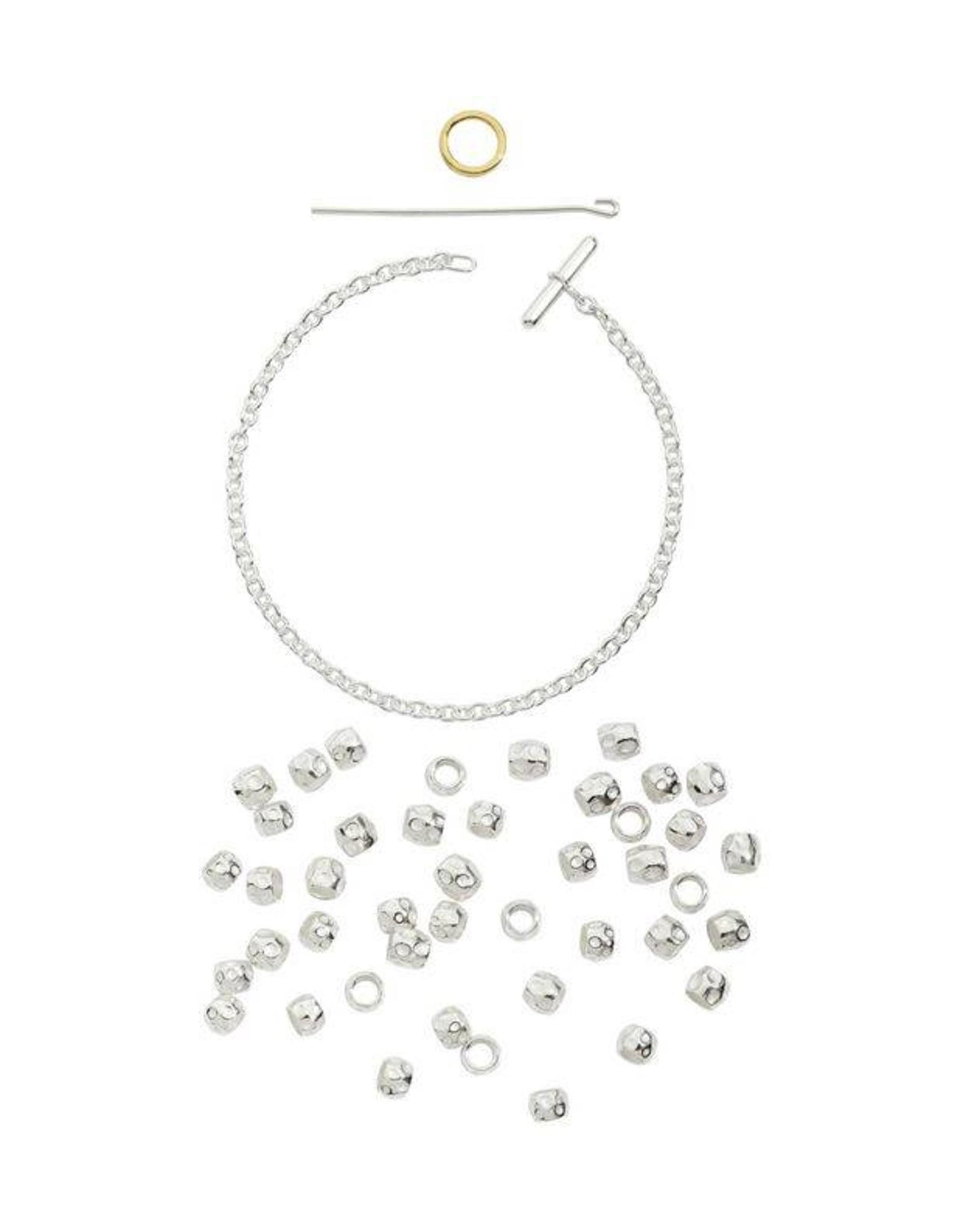DoDo Armband Kit met zilveren beads