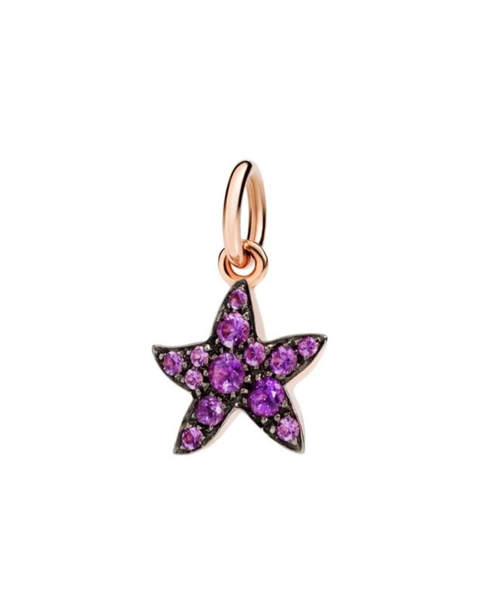 DoDo Charm Starfish Amethyst