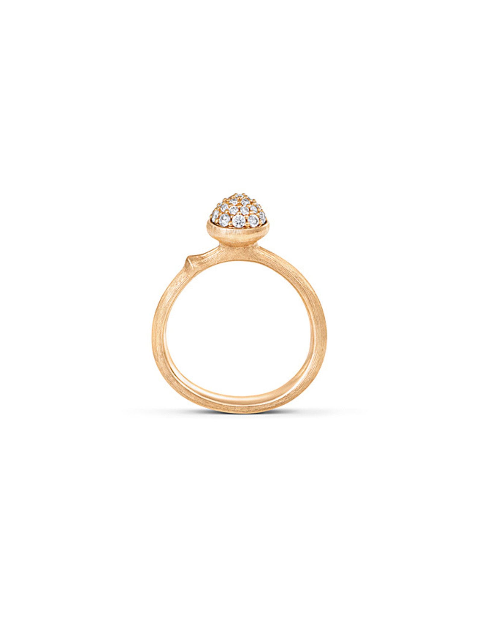Ole Lynggaard Ring Lotus Small pavé