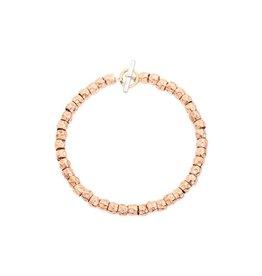 DoDo Armband Kit rood gouden beads