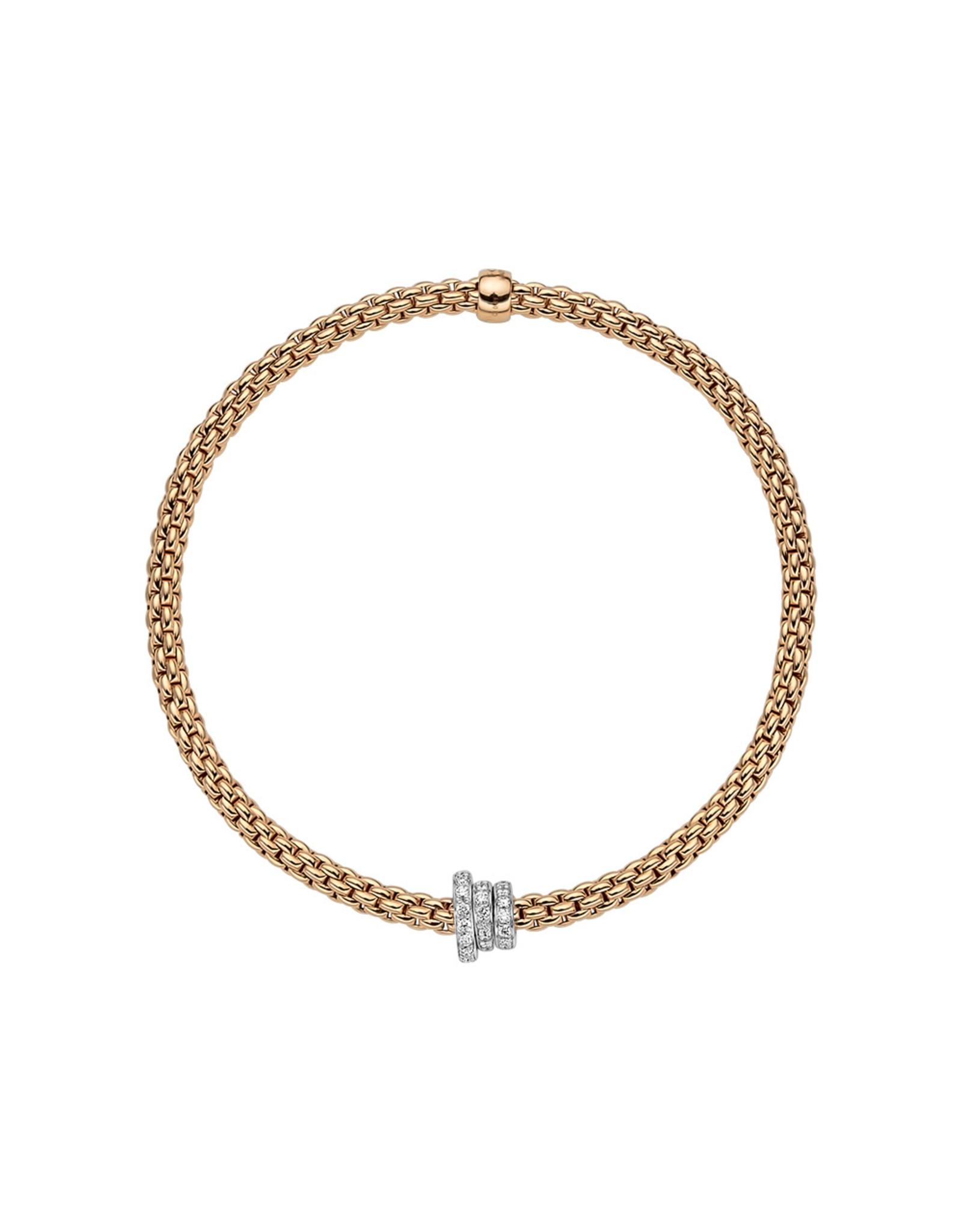 Fope Armband flex'it Prima rood goud