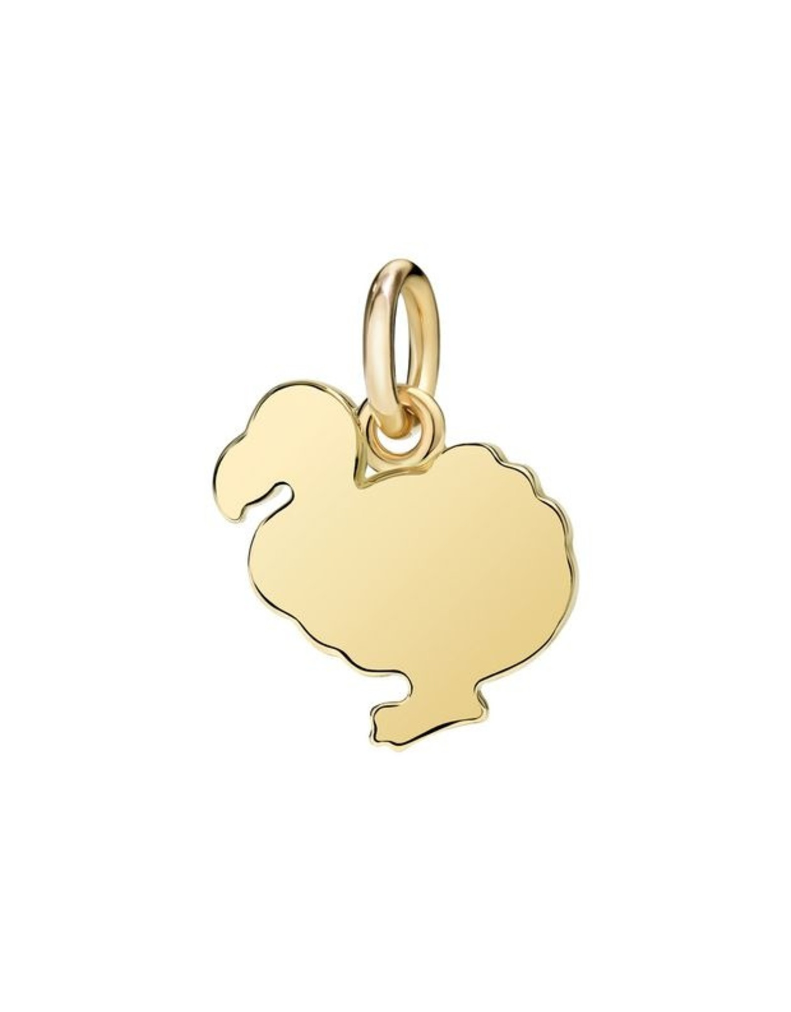 DoDo Charm Dodo geel goud