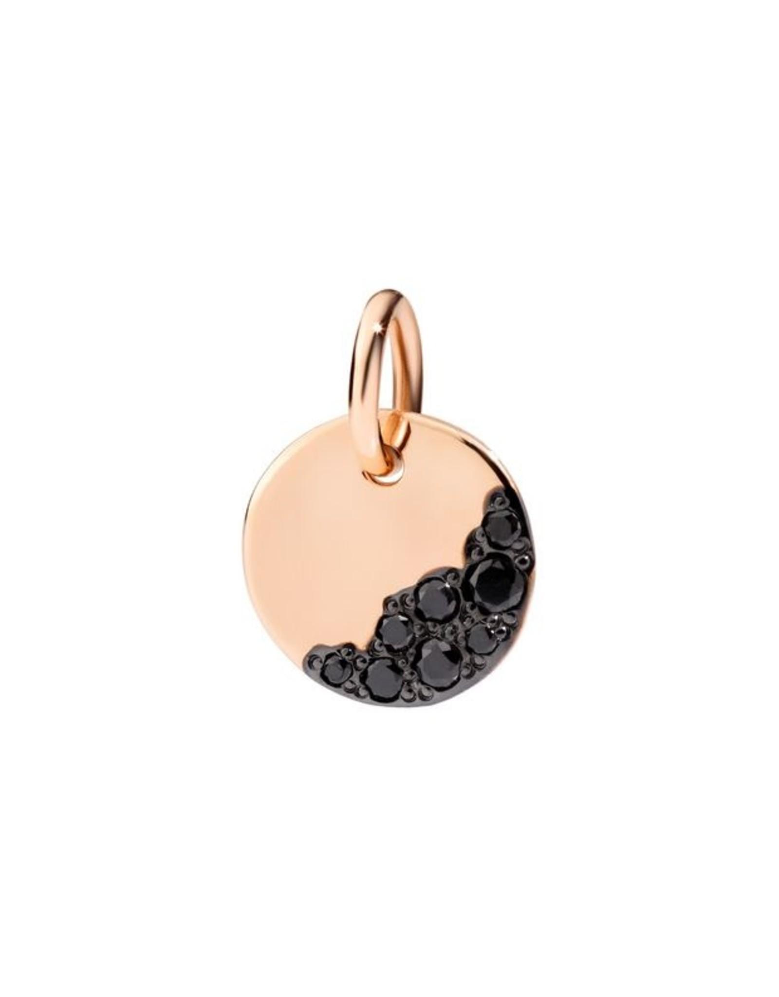 DoDo Charm Precious Tag zwarte diamant
