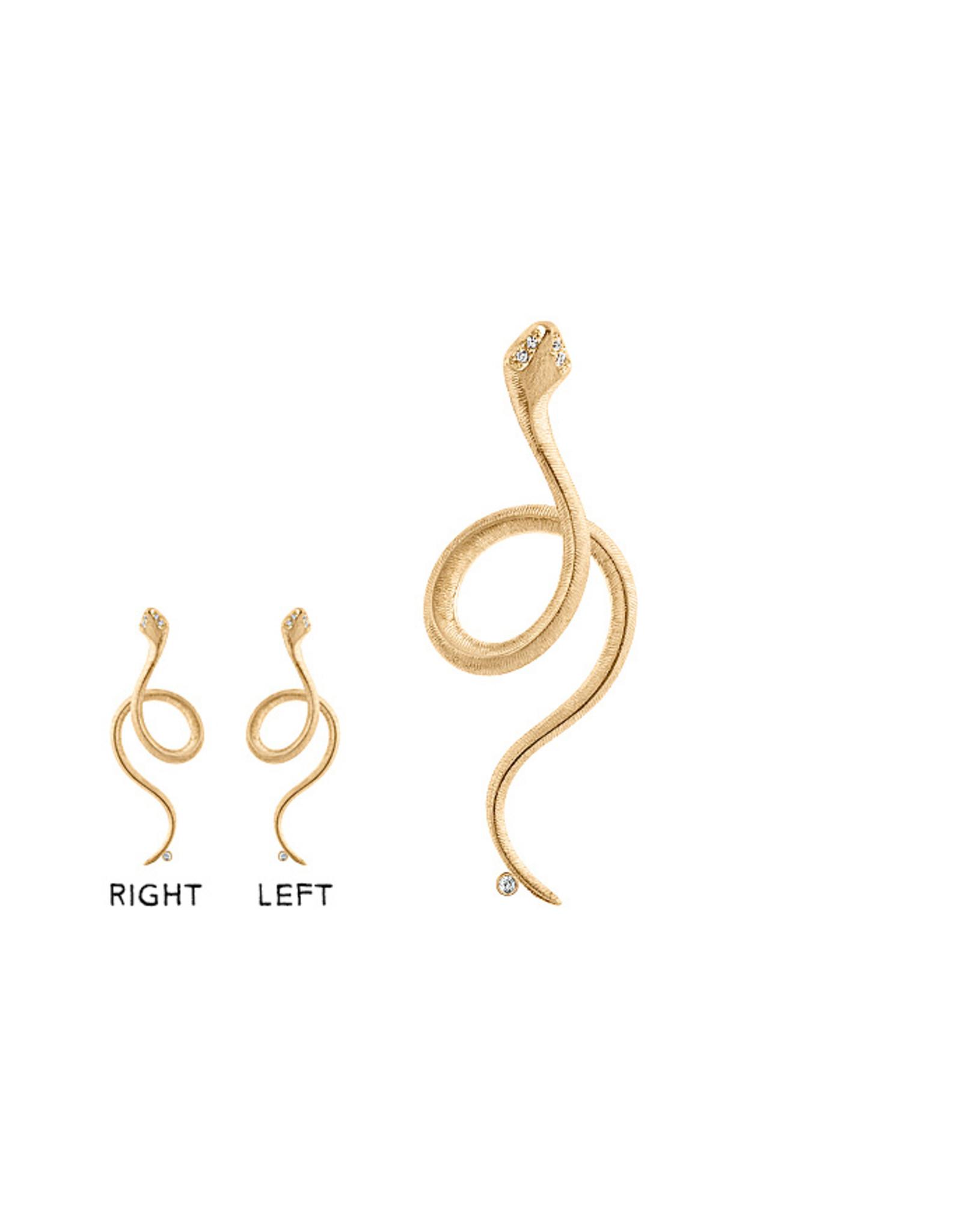 Ole Lynggaard Oorring Snakes (1 oorring - rechts)