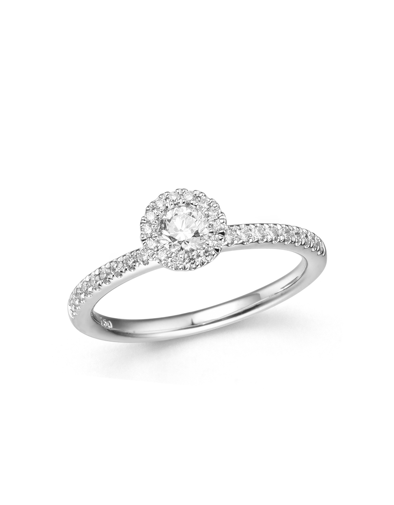 Ring wit goud diamant