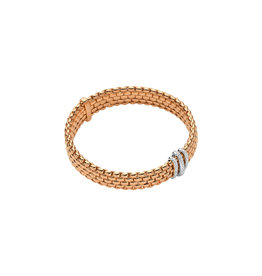 Fope Armband Panorama flex'it rood goud