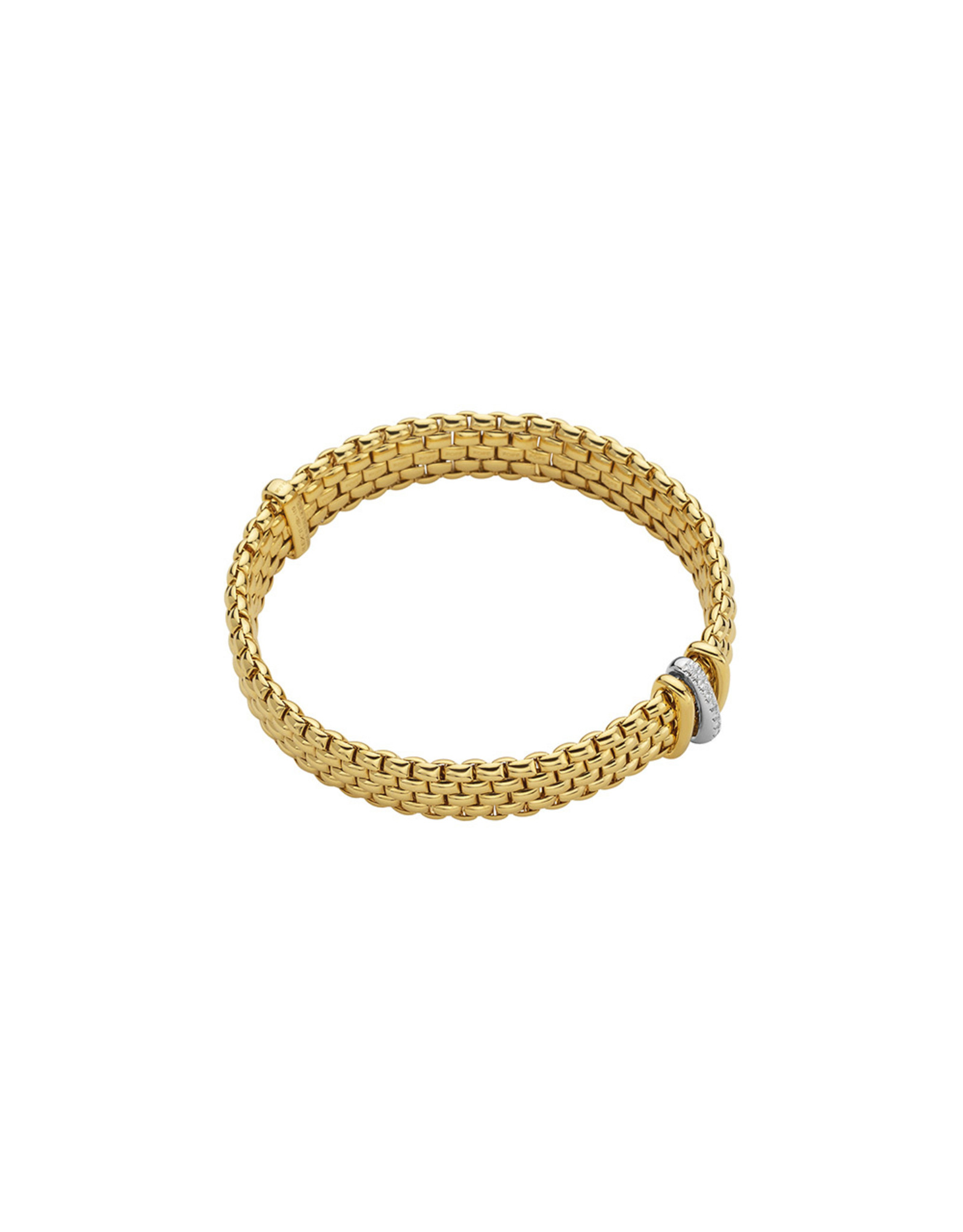 Fope Armband Panorama flex'it geel goud