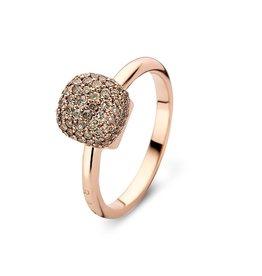 Bigli Ring Mini Sweety bruine diamant