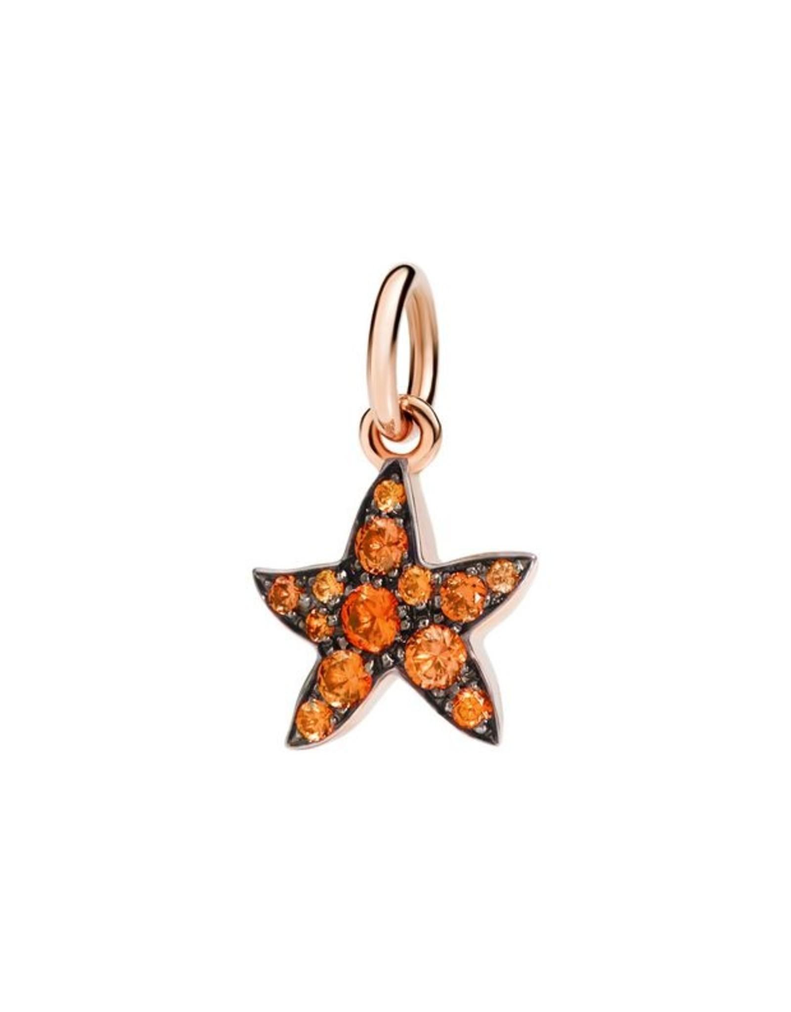 DoDo Charm Star oranje saffier
