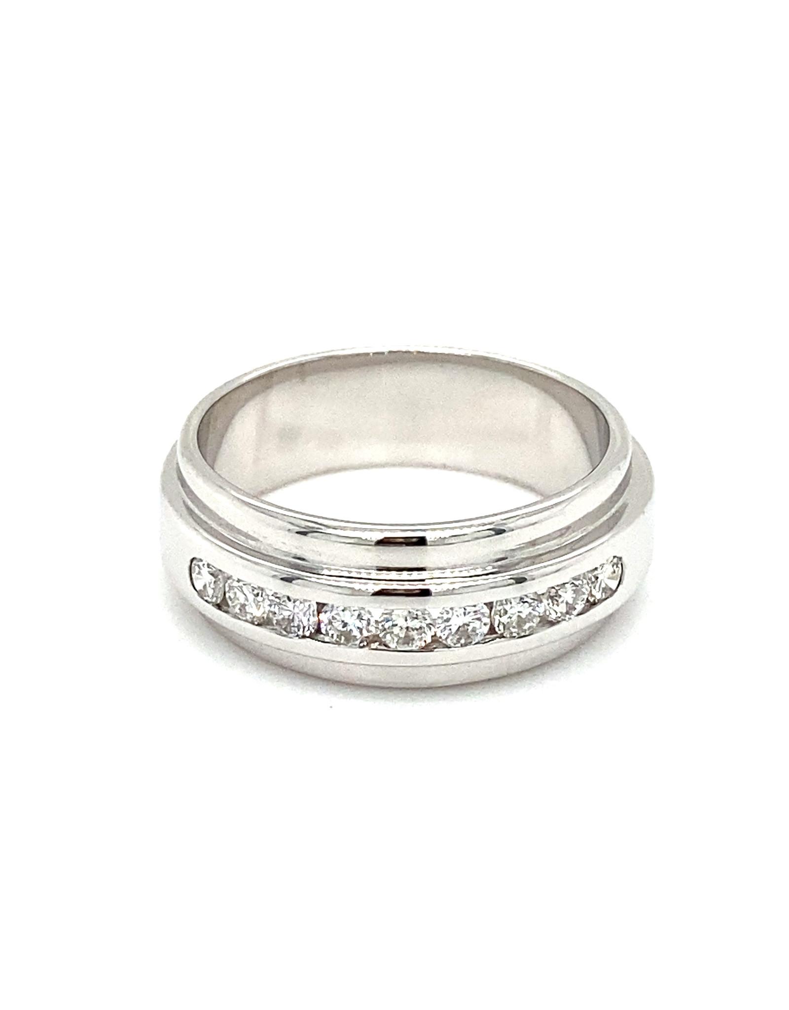 Ring wit goud diamant