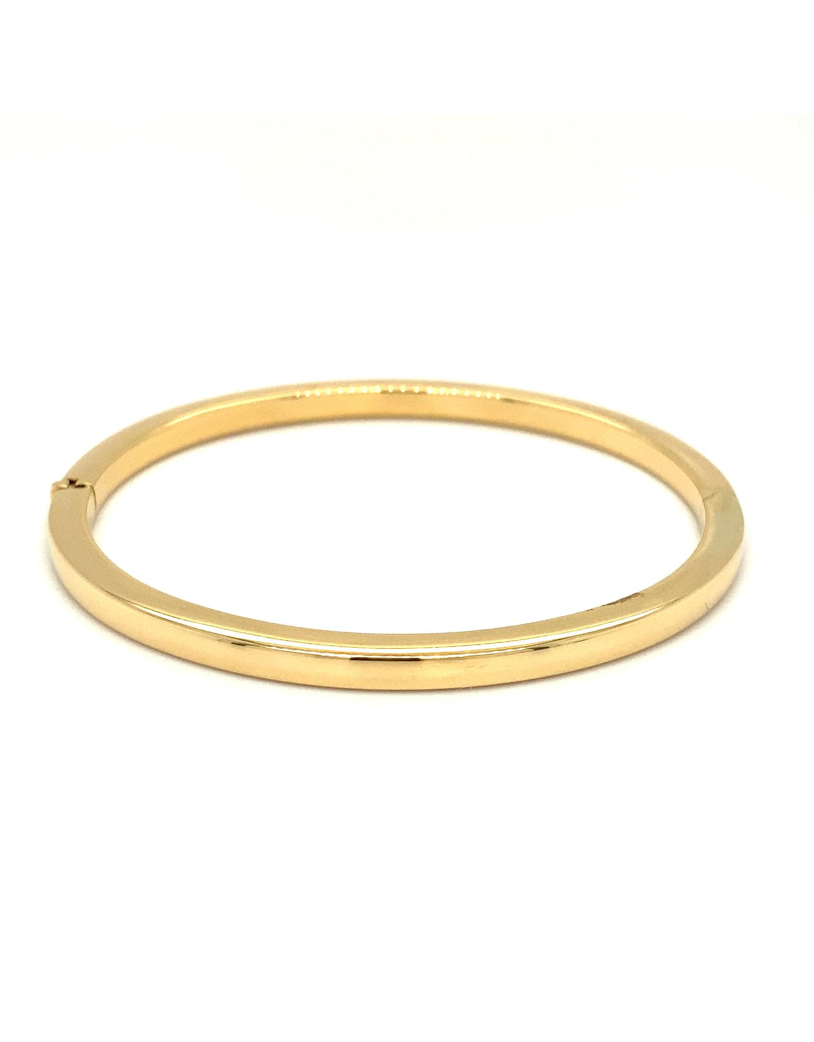 Clioro Armband geel goud esclave