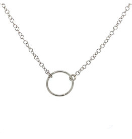 Collier wit goud