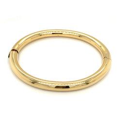 Armband esclave geel goud 6 mm