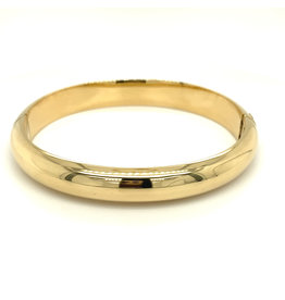 Armband esclave geel goud 10 mm