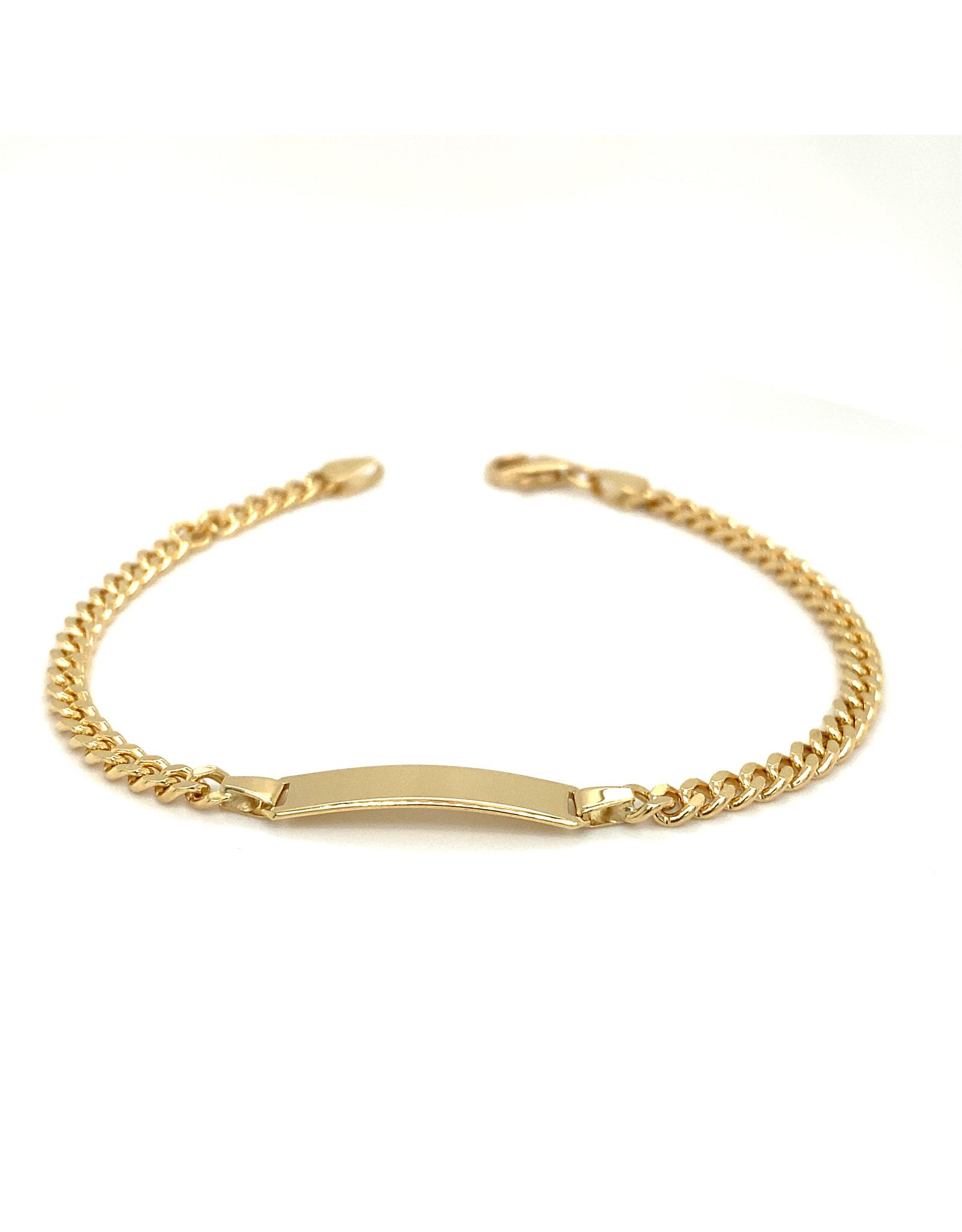 Armband geel goud 18,5 cm