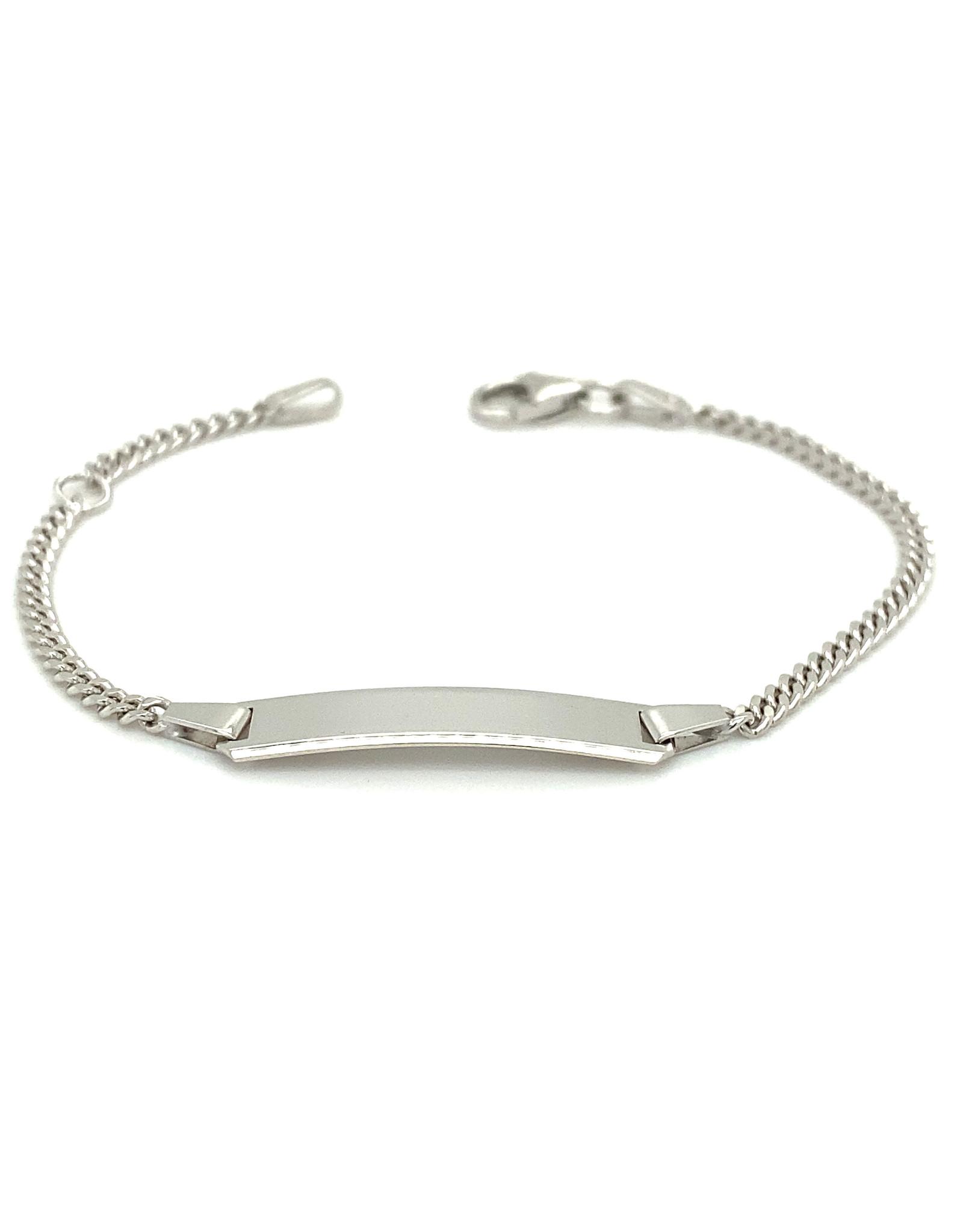Armband wit goud