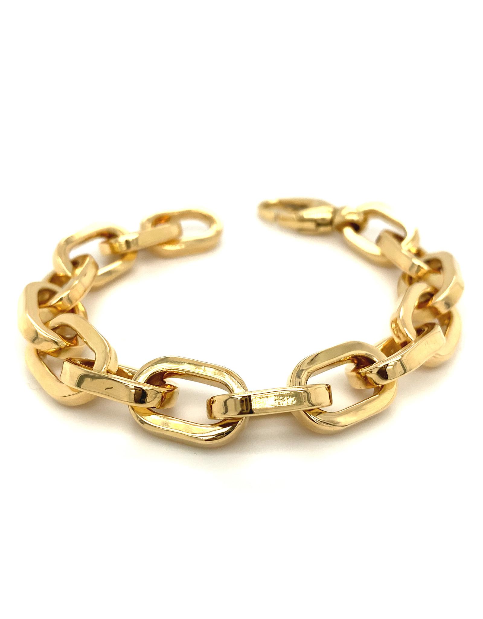 Armband geel goud