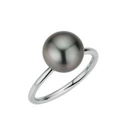 Gellner Ring wit goud & tahitiparel
