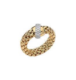Fope Ring flex'it Vendôme geel goud