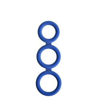 Renegade Renegade Triad Cockring - Blauw