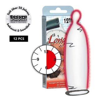 Secura Kondome Secura Longtime Lover Condooms - 12 Stuks