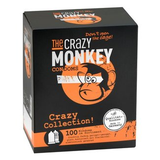 The Crazy Monkey TCMC Crazy Collection! Condooms - 100 stuks