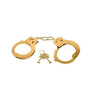 Fetish Fantasy Series Gold Metal Cuffs