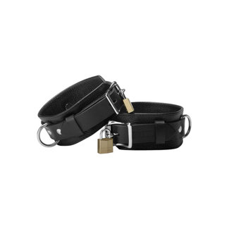 Strict Leather Strict Leather Deluxe Locking Cuffs - Small